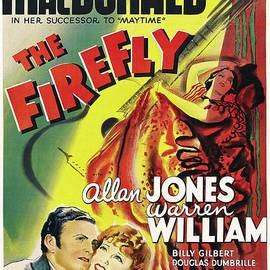 Classic Movie Poster - The Firefly by Esoterica Art Agency