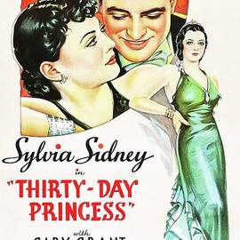 Classic Movie Poster - Thirty Day Princess by Esoterica Art Agency