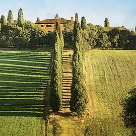 Classic Tuscany Italy by Joan Carroll
