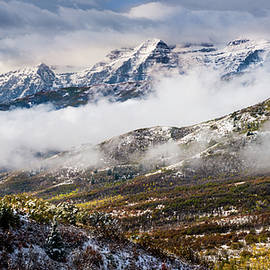 Clearing Storm Over Timpanogos by TL Mair