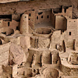 Cliff Palace Panorama - Mesa Verde National Park by John Trommer
