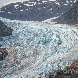 Close Up Of Bear Glacier by Robert Bales