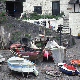 Clovelly 1 - Boats by Jerry Griffin