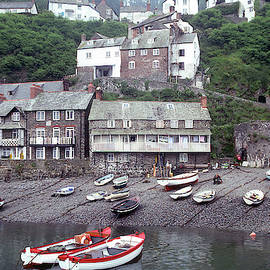 Clovelly 3 - Town View by Jerry Griffin