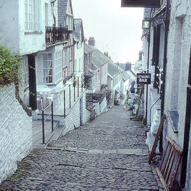 Clovelly 9 - Looking Down the Main Street  by Jerry Griffin