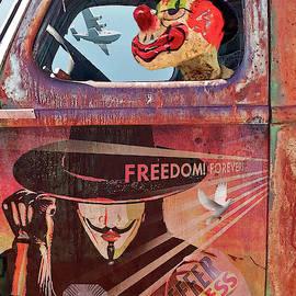 Clowns Drive in the Circus by Joseph J Stevens