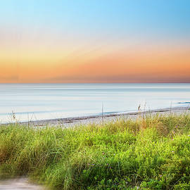Coastal Dunes Dreamscape by Debra and Dave Vanderlaan