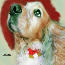 Cocker Spaniel Painting by Miss Pet Sitter