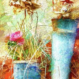 Coffee Can Flowers AP by Dan Carmichael