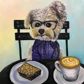 Coffee time  by Yuliia Stelmakh