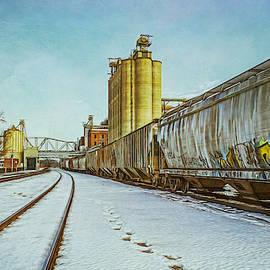 Barbara Grether - Cold Trains, heh heh.