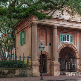 College Of Charleston - Porters Lodge - College Memories by Dale Powell