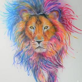 Color Lion by Maria Arias