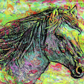 Color Spotted Horse by Grace Iradian