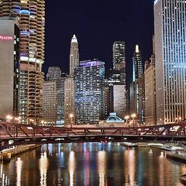 Colorful Chicago by Chicago Skyline