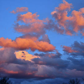 Colorful Clouds At Sunset In Grand Junction Colorado by Ray Mathis
