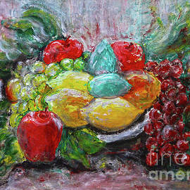 Colorful Fruit by Jasna Dragun
