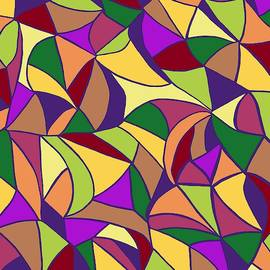 Colorful Irregular Shapes by Chante Moody