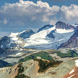 Colorful Mountain Peaks by Pierre Leclerc Photography