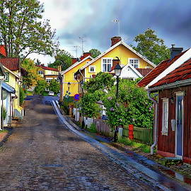 Colorful Scandinavian Houses by Anthony Dezenzio