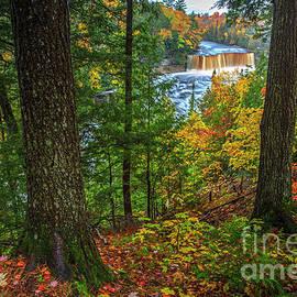 Colorful Tahquamenon Falls  by Dale Niesen