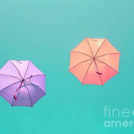 Colorful umbrellas by Patricia Hofmeester