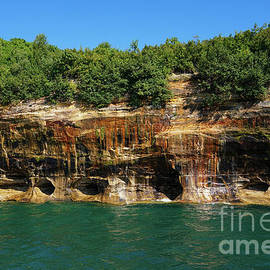 Colors at Pictured Rocks 2 by Rachel Cohen