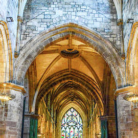 Colors of St. Giles Cathedral by Marcy Wielfaert