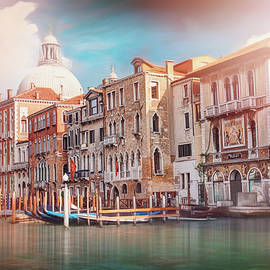 Colors of The Grand Canal Venice Italy