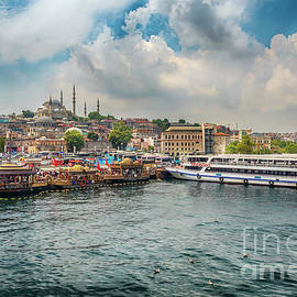 Colourful Istanbul by Pavel Kotelevskii