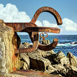Comb Of The Wind By Chillida 06 by Weston Westmoreland