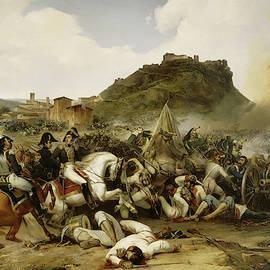 Combat de Castalla, 1812 by Jean-Charles Langlois