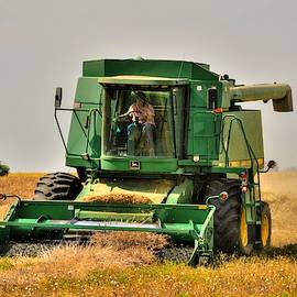 Combine Almost Done by David Matthews