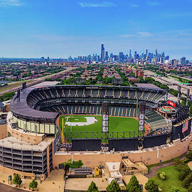 Comiskey Park - Chicago White Sox by Bobby King