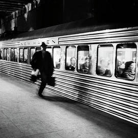 Commuter On The New York New Haven Line by Alfred Eisenstaedt