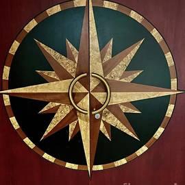 Compass door by Linda Covino
