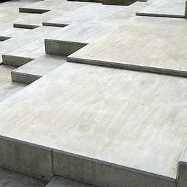 Concrete Geometry - Modernist Abstract 1 by Philip Openshaw