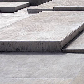 Concrete Geometry - Modernist Abstract 3 by Philip Openshaw