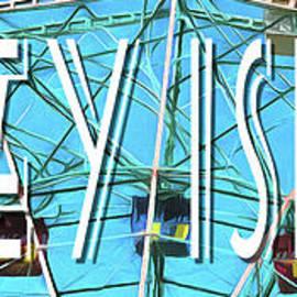 Coney Island Sign by Edward Fielding