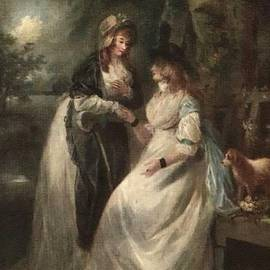 Gert J Rheeders - Confidences - After The Style Manner And Painting By George Morland  L A S