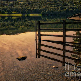 Coniston Reflections by Nick Wardekker