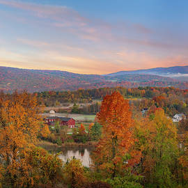 Connecticut Country Sunrise by Bill Wakeley