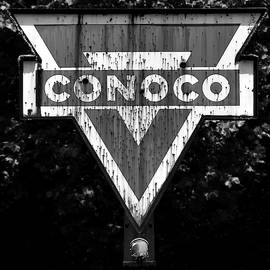 Conoco BW by Pat Turner