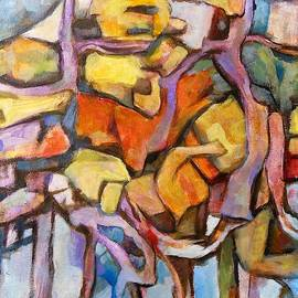 Constructivism painting 2nd attempt by Alfons Niex