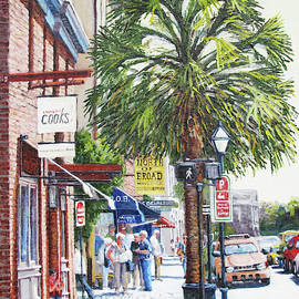 Cooks on East Bay St. by Thomas Michael Meddaugh