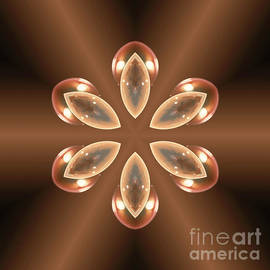 Copper Prism Flower  by Rachel Hannah