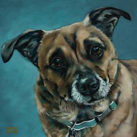 Corgi Doxie Terrier by Julie Dalton Gourgues