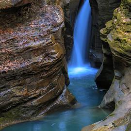 Corkscrew Falls Ohio by Dan Sproul