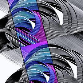 Corrugation Rainbow by Susan Maxwell Schmidt