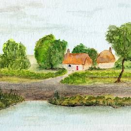 Cottage By the Water by James Michael Johnson